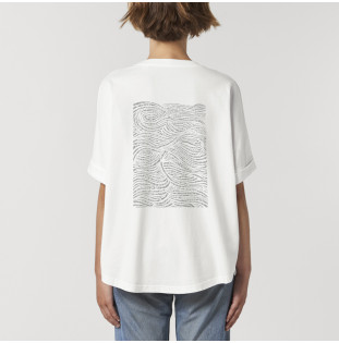 Camiseta Atlas: Haizea Tee (G Dyed White) Atlas - 1