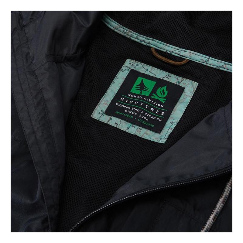 Chaqueta Hippytree: El Cap Windbreaker (Black)