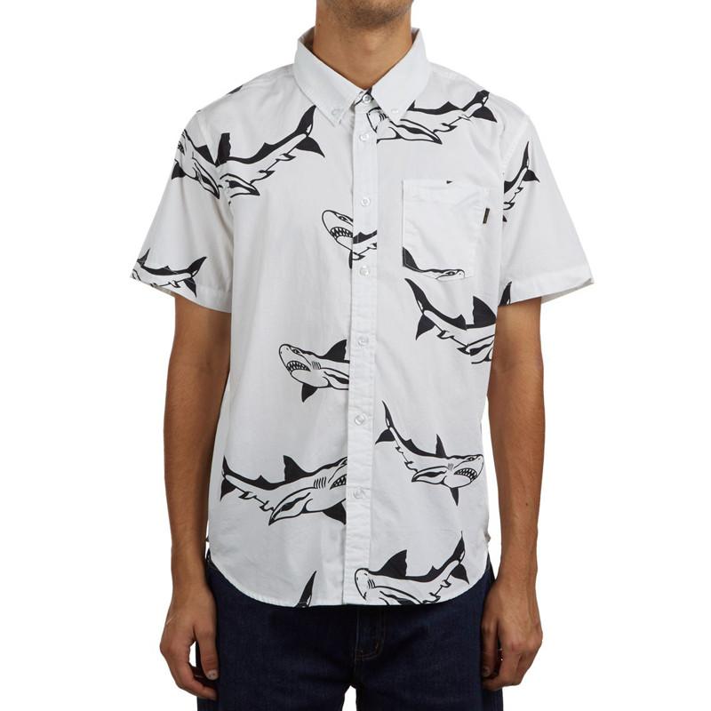 Camisa Dark Seas: BRUCE (WHITE)