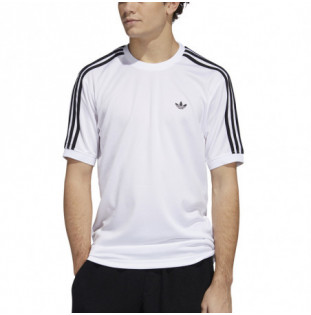 Camiseta Adidas: Aero Club Jrsy (White Black) Adidas - 1