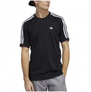 Camiseta Adidas: Aero Club Jrsy (Black White) Adidas - 1