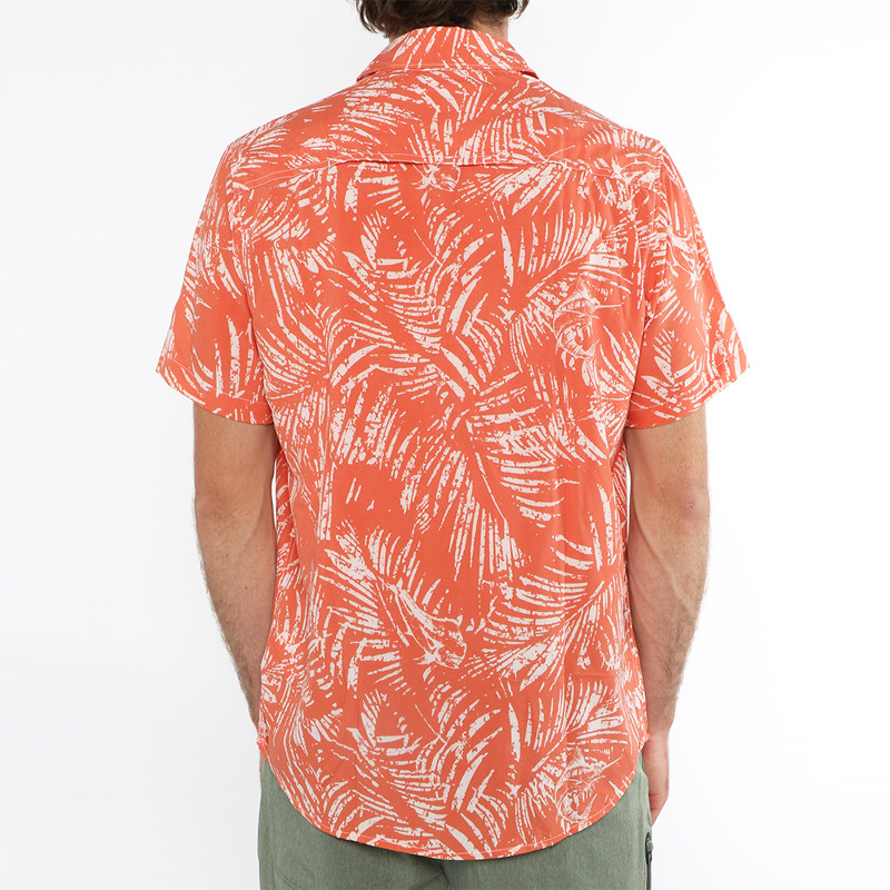 Camisa Salty Crew: Weathered SS UV (Coral)