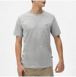 Camiseta Dickies: SS Mapleton TShirt (Grey Melange) Dickies - 1