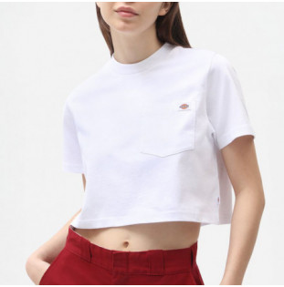 Camiseta Dickies: SS Porterdale Crop W (White) Dickies - 1