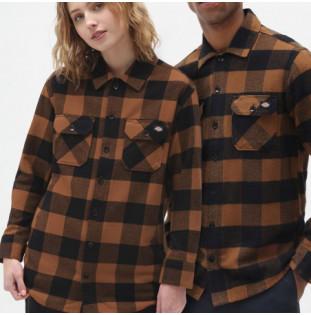 Camisa Dickies: New Sacramento Shirt (Brown Duck) Dickies - 1