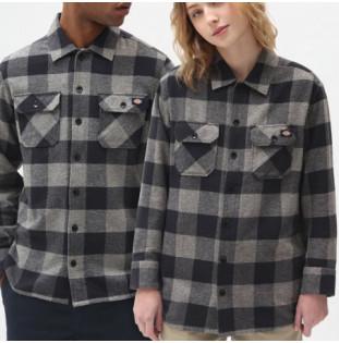 Camisa Dickies: New Sacramento Shirt (Grey Melange) Dickies - 1