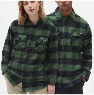 Camisa Dickies: New Sacramento Shirt (Pine Green) Dickies - 1