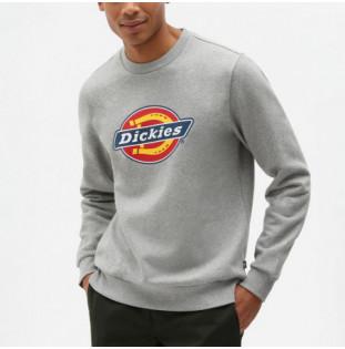 Sudadera Dickies: Icon Logo Sweatshirt (Grey Melange) Dickies - 1