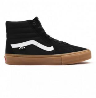 Botas Vans: Skate SK8 Hi (Black Gum)