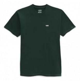 Camiseta Vans: Left Chest Logo Tee (Scarab)