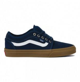 Zapatillas Vans: Chukka Low Sidestripe (Navy Gum)