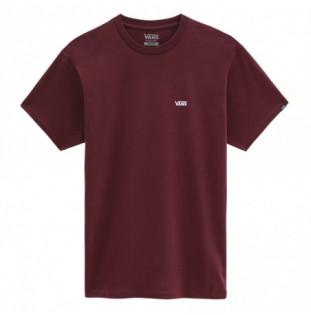 Camiseta Vans: Left Chest Logo Tee (Port Royale White) Vans - 1