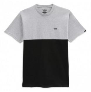Camiseta Vans: Colorblock Tee (Athletic Heather Black) Vans - 1