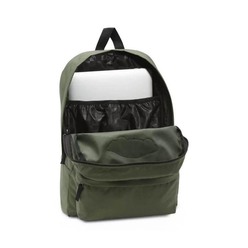 Mochila Vans: Realm Backpack (Thyme)