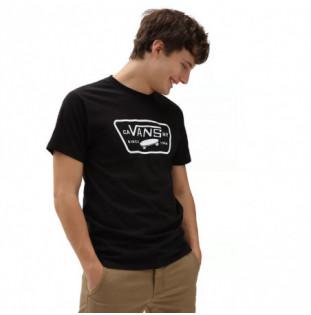 Camiseta Vans: Full Patch (Black White) Vans - 1