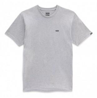 Camiseta Vans: Left Chest Logo Tee (Athletic Hea Black)