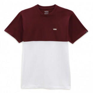 Camiseta Vans: Colorblock Tee (White Port Royale)