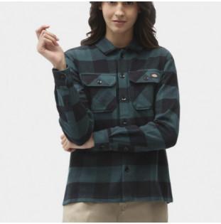 Camisa Dickies: New Sacramento Shirt Ls W (Ponderosa Pine) Dickies - 1