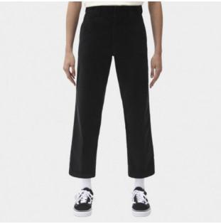 Pantalón Dickies: 874 W Crop Cord Pant (Black) Dickies - 1