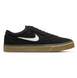 Zapatillas Nike: Chron 2 (Black White Blk Gum Light Brown)