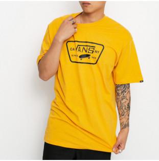 Camiseta Vans: Full Patch (Golden Glow Black)