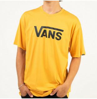 Camiseta Vans: Vans Classic (Golden Glow Black)