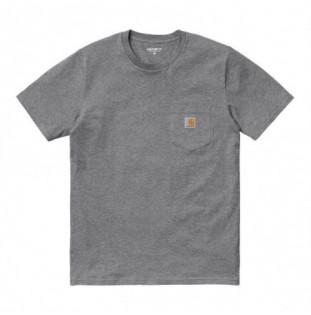 Camiseta Carhartt: SS Pocket T Shirt (Dark Grey Heather) Carhartt - 1