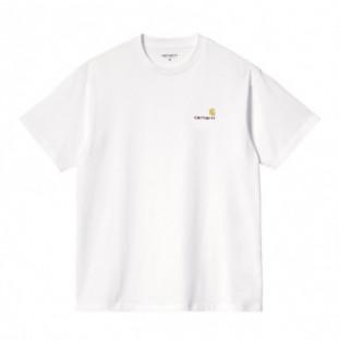 Camiseta Carhartt: SS American Script T Shirt (White) Carhartt - 1