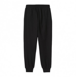 Pantalón Carhartt: W Script Embroidery Swt Pant (Black White) Carhartt - 1
