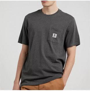 Camiseta Element: Basic Pocket Label S (Charcoal Heathe) Element - 1