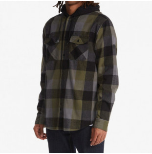 Camisa DC Shoes: Ruckus Flannel (Ivy Green Check) DC Shoes - 1