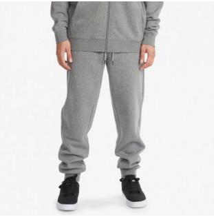 Pantalón DC Shoes: Riot Franchise Sweat Pant (Med Grey Hea) DC Shoes - 1