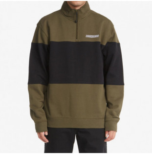 Sudadera DC Shoes: Downing Franchise Mock (Ivy Green) DC Shoes - 1