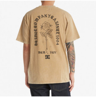 Camiseta DC Shoes: Singled Out HSS (Incense Acid Wash) DC Shoes - 1