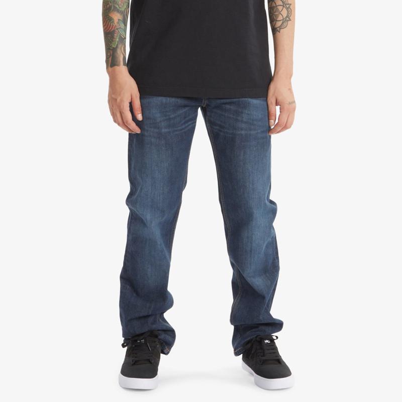 Pantalón DC Shoes: Worker Straight Denim SDS (Dark Stone)