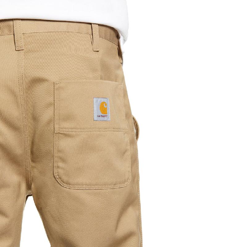 Pantalón Carhartt: Abbott Pant (Leather)