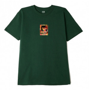 Camiseta Obey: Obey Icon Face Collage (Forest green)