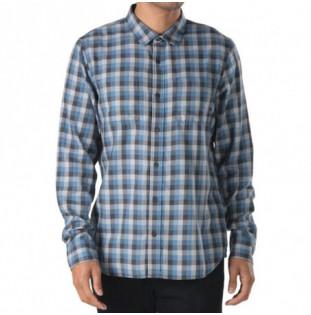 Camisa Vans: Alameda II (Asphalt Blue Coral)