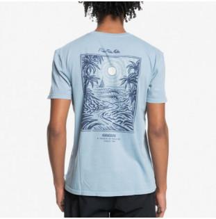 Camiseta Quiksilver: Silent Dusk SS (Citadel Blue)
