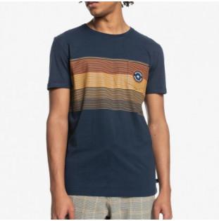 Camiseta Quiksilver: New Stripes SS (Navy Blazer)