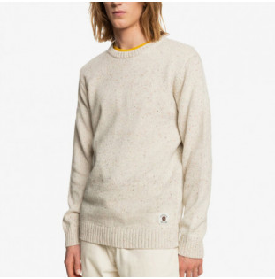 Jersey Quiksilver: Neppy Sweater (Antique White)