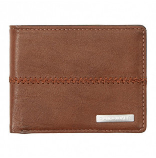 Cartera Quiksilver: Stitchy 3 (Chocolate Brown)