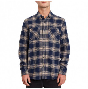 Camisa Volcom: Tone Stone LS (Indigo) Volcom - 1