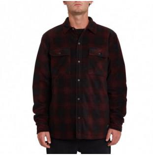 Camisa Volcom: Bowered Fleece LS (Port) Volcom - 1