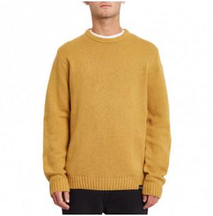 Jersey Volcom: Edmonder Sweater (Mustard Gold) Volcom - 1