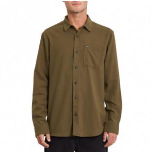Camisa Volcom: Caden Solid LS (Wren) Volcom - 1