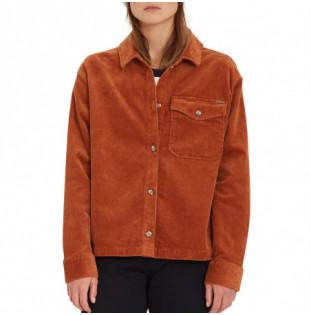 Camisa Volcom: Sha Lala Shacket (Mocha) Volcom - 1