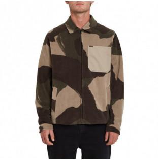 Camisa Volcom: Imson Fleece Jacket (Camouflage) Volcom - 1
