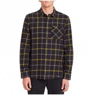 Camisa Volcom: Caden Plaid LS (Black) Volcom - 1