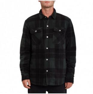 Camisa Volcom: Bowered Fleece LS (Scarab) Volcom - 1